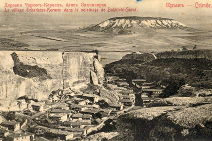 Çerkez Kermen köyü